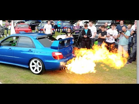 how to get a turbo car to shoot flames