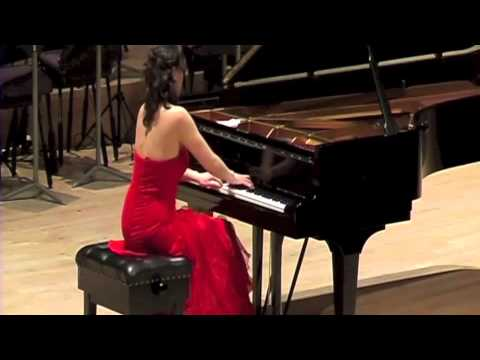 Diana Brekalo performing Milko Kelemen Sonata no. 1 (1954)