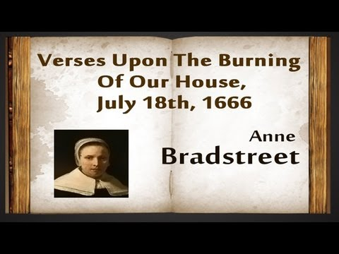American lit anne the author to her book mistress bradstreet essay