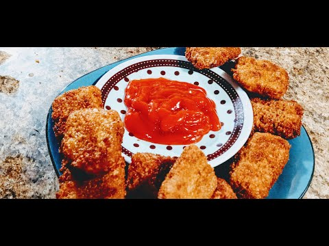 Nyataa ijoole. Ethiopian food.  How to make chicken nuggets at home #oromo food recipe