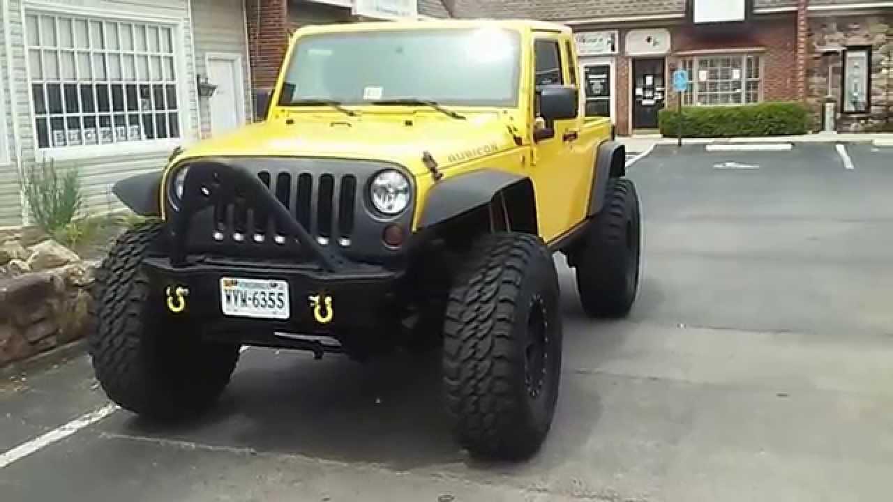 2008 jeep wrangler rubicon jk8 with cummins - youtube