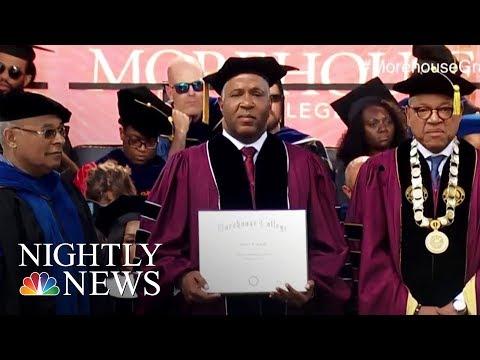 Billionaire Philanthropist Robert Smith's Gift To Morehouse Grads: No Student Debt | Nightly News