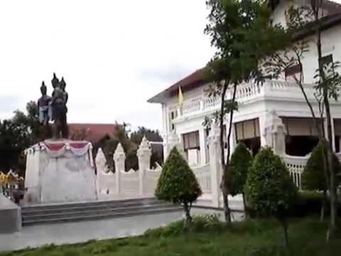 The Three Kings Statue Of Chiang Mai Lanna Kingdom