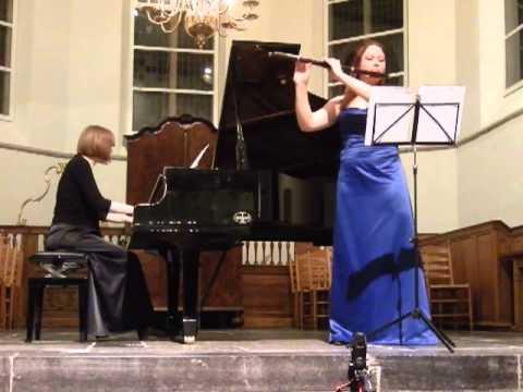 C. Franck sonata 4/4 Anne Brackman & Cathelijne Noorland