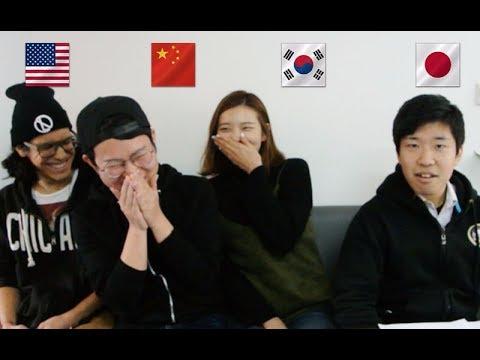上海英语圈|笑成傻逼!中日韩英四语大PK!