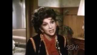 Gina Lollobrigida on Falcon Crest 1984