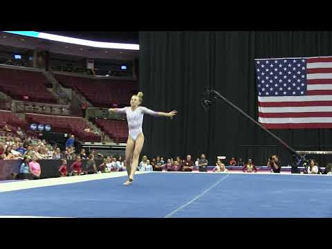 Olivia Greaves - Floor Exercise - 2018 GK U.S. Classic - Junior Competition