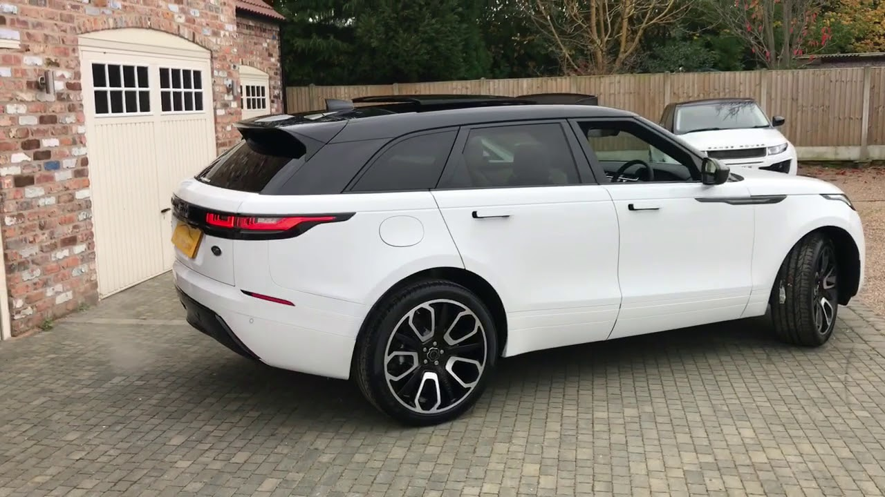 land rover range rover velar s overfinch carbon fibre for sale in white youtube. Black Bedroom Furniture Sets. Home Design Ideas