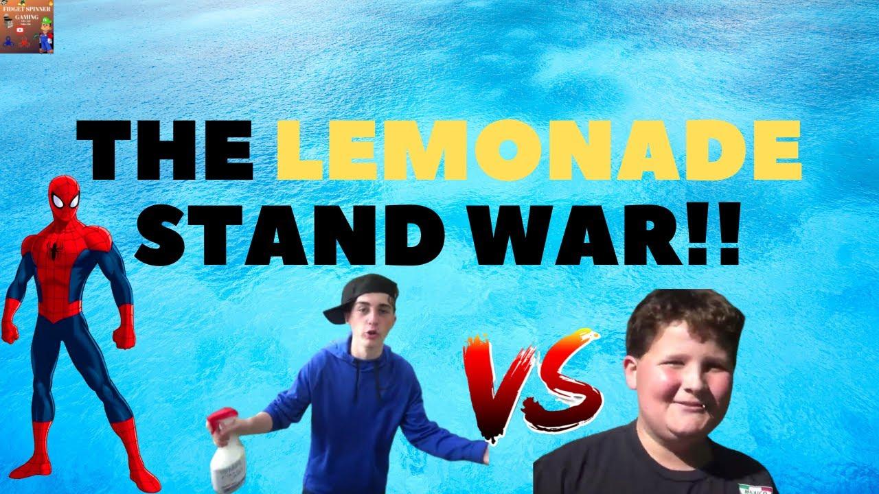 The Lemonade Stand War!!
