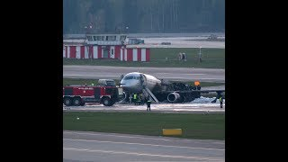 41 people confirmed dead in plane fire in Moscow's airport | CCTV English