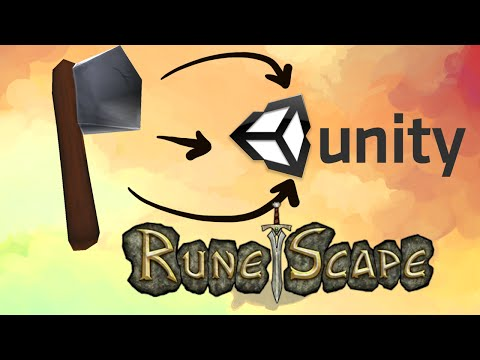 How to make Models for Unity - Runescape Styled Axe - YouTube