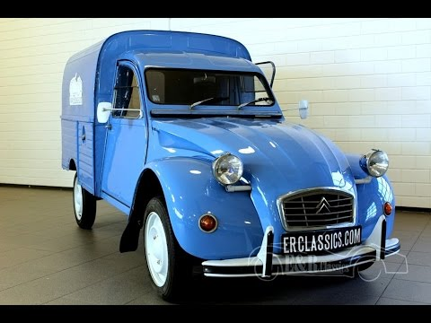 citroen 2cv ak400 1975 great for promotion or foodtruck good condition video www erclassics. Black Bedroom Furniture Sets. Home Design Ideas