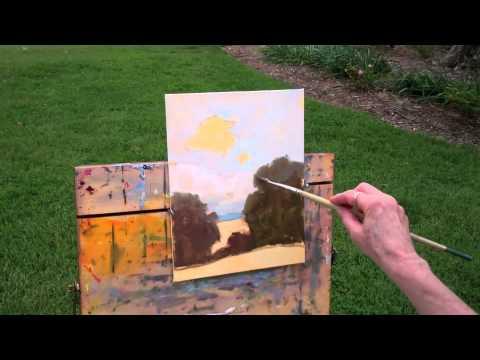 How to Paint a Plein Air Landscape — The Art League School