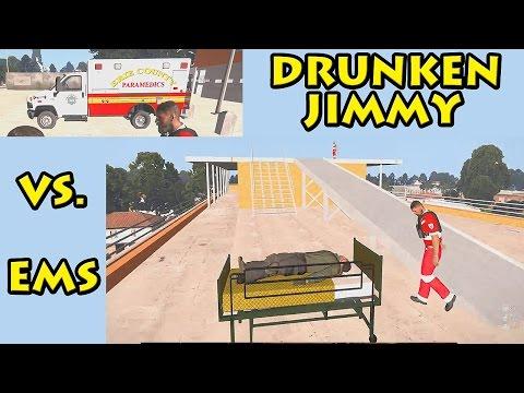 Funny Roleplay - Drunken Vs Medic - OrgoByte Humanity