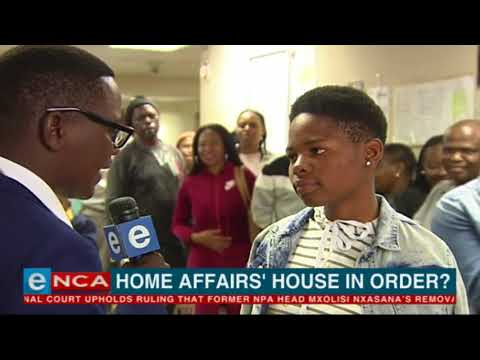 Home Affairs house in order?
