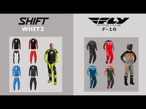 Недорогие мотоштаны и джерси Shift и Fly Racing 2020.