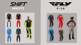 недорогие мотоштаны и джерси Shift и Fly Racing 2020