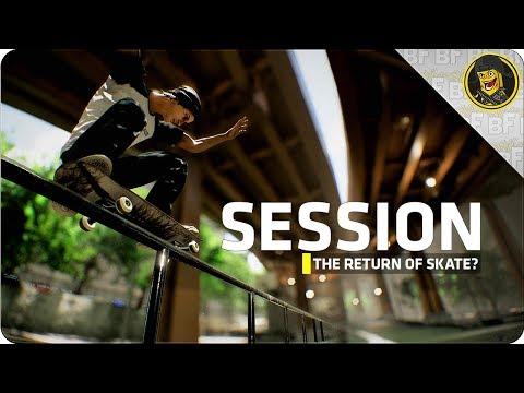 SESSION: The Return of SKATE? (Kickstarter)