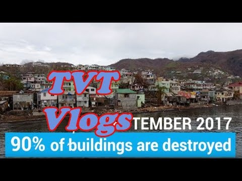 Hurricane maria aftermath: children's education on hold in dominica [TVT Vlogs]