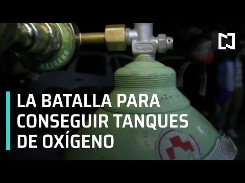 Tanques de oxígeno en la CDMX - En Punto