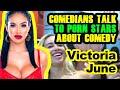 Victoria June - Comedians Talk to Porn Star Victoria June About Comedy at Exxxotica 2019