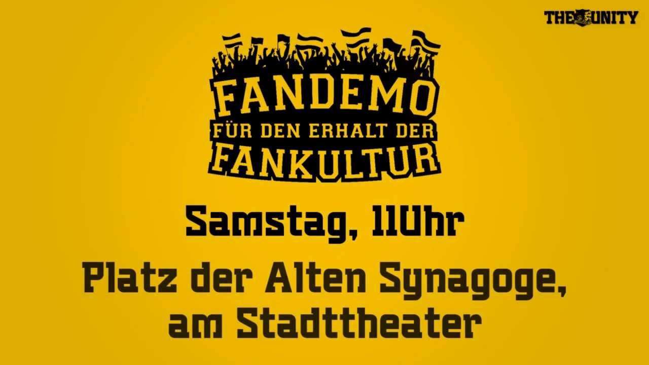FANDEMO 08.12.12 - Für den Erhalt der Fankultur!