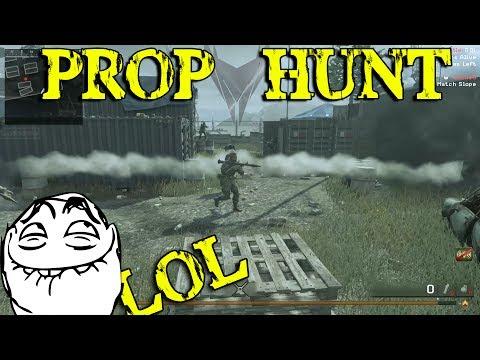 PROP HUNT : CoD 4 MWR !