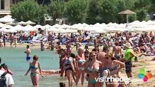 Visitrhodes.com - Lindos village & Lindos Beach - Rhodes Greece