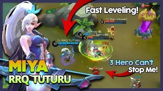 RRQ'Tuturu 'Marksman No Need Recall' Skin Off Just Need Skill ft Lemon & Marsha ~ MLBB