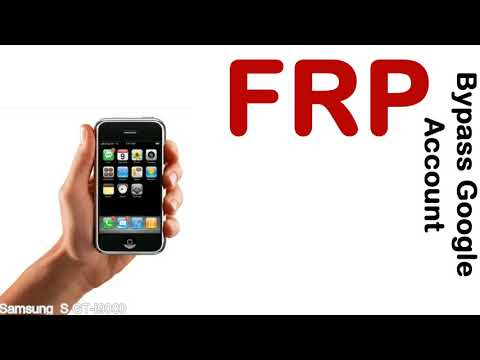 How To Unlock Samsung Galaxy S GT I9000 Google Account (Fix FRP)