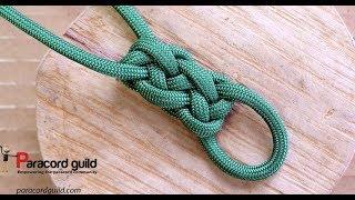 Flat Gaucho Knot- Trama Pluma, Vertical