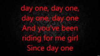 Chris Brown Day one Lyrics