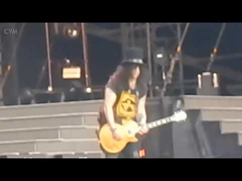 Slash Solo Sweet Child O' Mine Guns N' Roses Nijmegen 4-7-2018