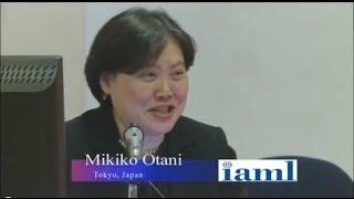 Video presentation by IAML Fellow Mikiko Otani of Japan on the impl...