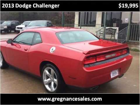 2013 Dodge Challenger Used Cars Tyler TX