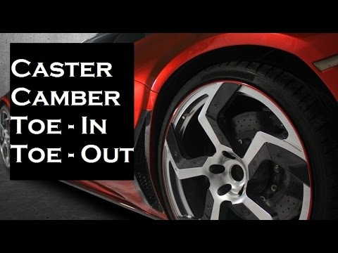 ★ Caster | Camber | Toe in | Toe out  ► Must Watch