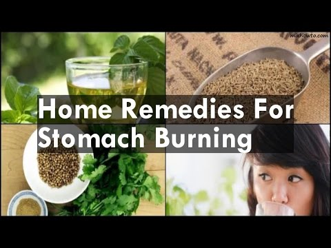 Home Remedies For Stomach Burning