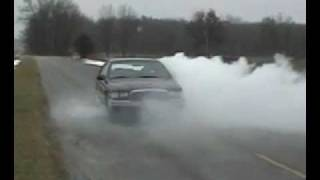 1995 Buick Roadmaster, Headers, X pipe, Spintech Prostreets -  Huge Burnout