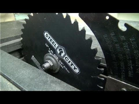 How to change a table saw blade youtube how to change a table saw blade greentooth Gallery