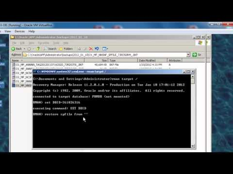 Overview Disaster Recovery using RMAN - Oracle Database 11g