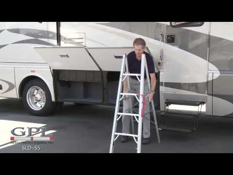 RV 5 Ft. Single Sided Compact Folding Ladder