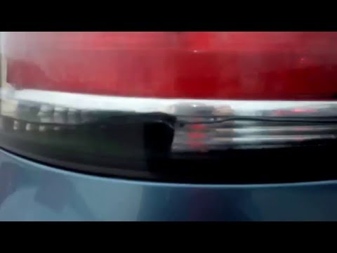 Задний фонарь опель зафира б 2008