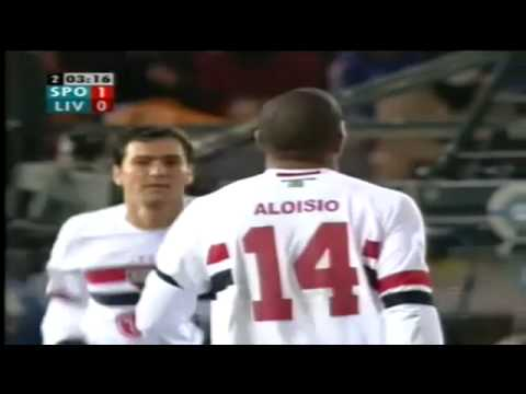 São Paulo F.C. 1 X 0 Liverpool F.C. - Jogo Completo do Mundial de Clubes da FIFA 2005