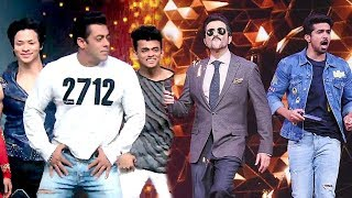 Salman Khan's Full Masti With Anil Kapoor On Race 3 - Dance India Dance Little Masters Sets