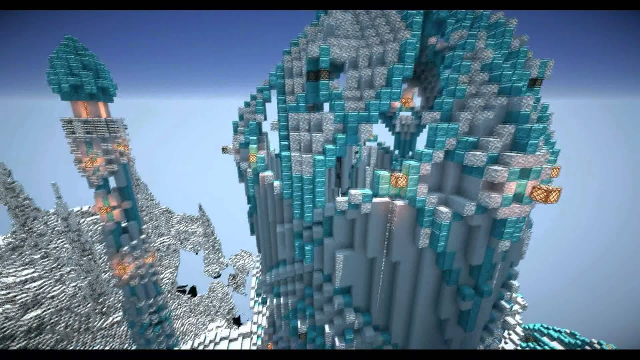 Minecraft Cinematic: Ice Castle by Tia'sul - YouTube