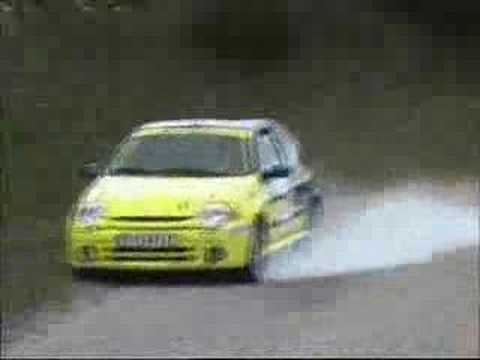 Jay Leno Crashes Car