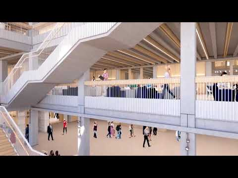 Kingston University Town House fly-through