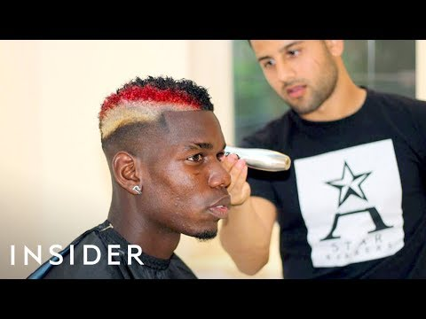 Meet The Barber Behind Paul Pogba's Famous Haircuts