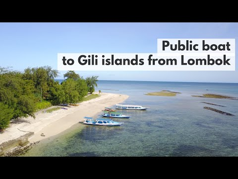 Public boat from Lombok to Gili Air and Gili Meno | Travel Gili islands