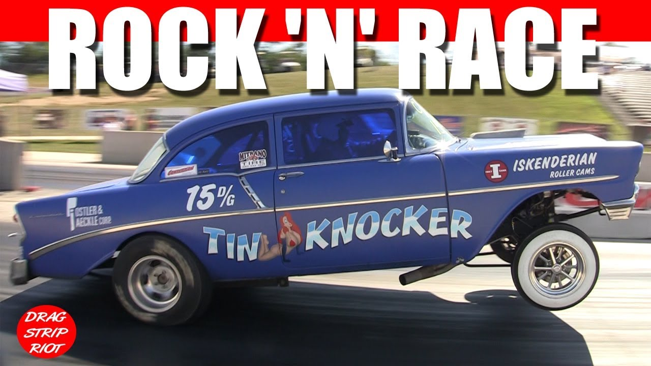 Rock N Race Madness Nostalgia Gassers Drag Racing Dragway 42 2019